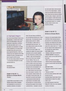 Ettienne Martin's published essays in the January edition of the FlySA Magazine.